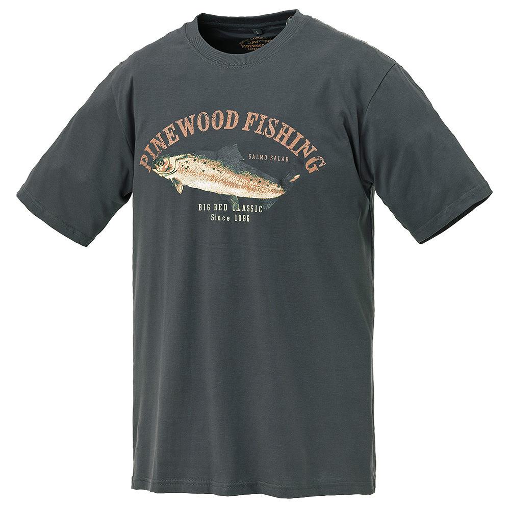 Pinewood 9456 Salmon Antrasit  T-Shirt- Beden XXL