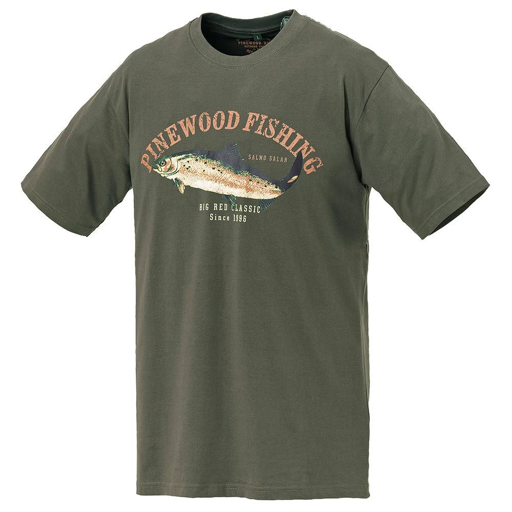 Pinewood 9456 Salmon Haki Yeşil T-Shirt- Beden 2XL