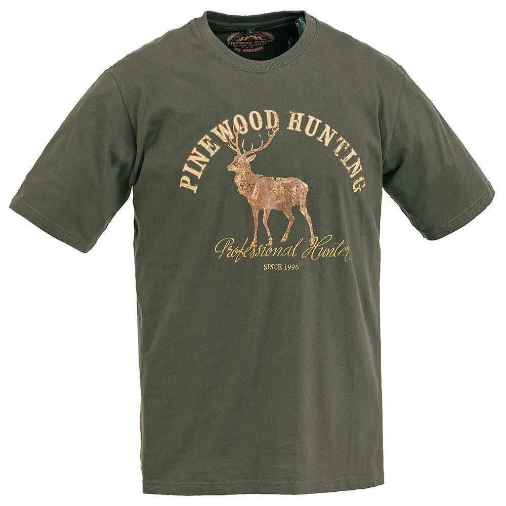 Pinewood 9457 Deer Haki Yeşil T-Shirt- Beden XXL